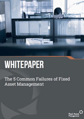 The 5 common failures of fixed asset management
